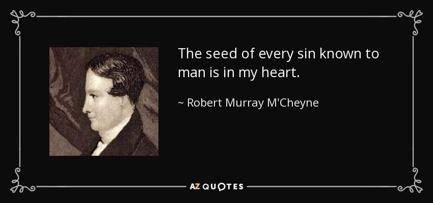 The piety of Robert Murray M'Cheyne