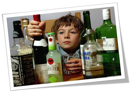 child and alcohol