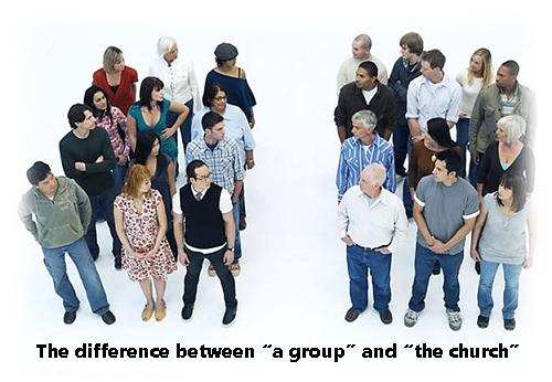 two groups of people